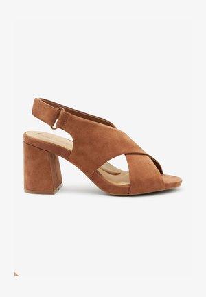 MOTION FLEX - High heeled sandals - tan