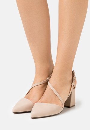 LINDENHOLT - Klassiske pumps - medium beige