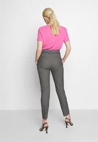 HUGO - THE CROPPED TROUSERS - Trousers - black - 0