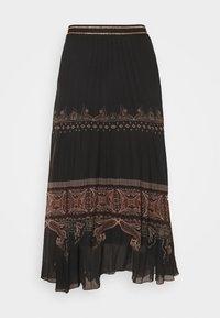 Desigual - FAL MURRAY - A-line skirt - black - 4