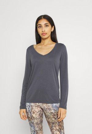 PCKAMALA - T-shirt à manches longues - ombre blue