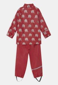 CeLaVi - RAINWEAR ELEPHANT SET UNISEX - Pantaloni impermeabili - rio red - 2