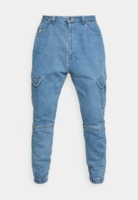 PANTS - Jeans Tapered Fit - blue