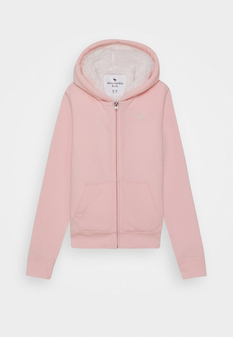 Abercrombie & Fitch - Hoodie met rits - light pink