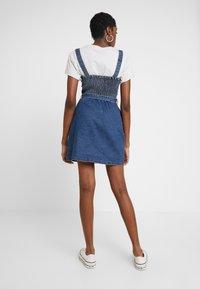 Hollister Co. - SHORT DRESS - Robe en jean - blue denim - 3