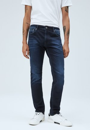 STANLEY - Slim fit jeans - blue