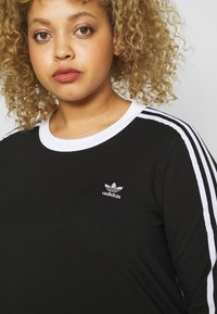 adidas Originals - Long sleeved top - black/white - 4