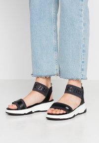 Dockers by Gerli - Platform sandals - schwarz - 0