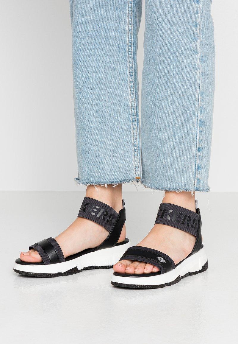 Dockers by Gerli - Platform sandals - schwarz
