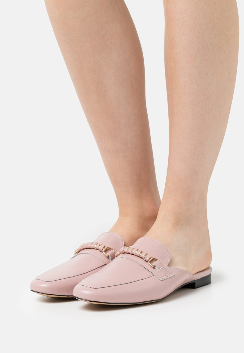 Office - FLEW TRIM MULE LOAFER - Mules - soft pink