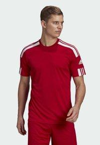 adidas Performance - SQUAD 21 - T-shirts print - team power red/white - 0