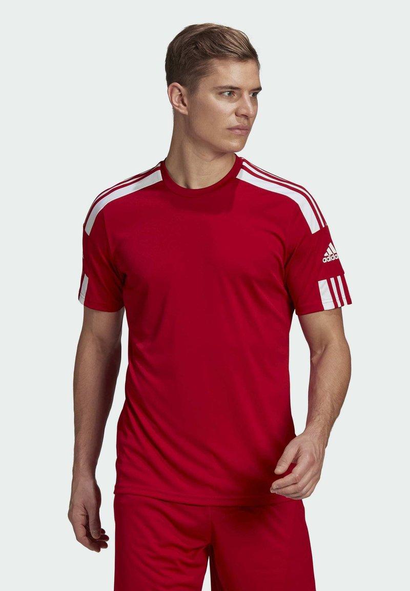adidas Performance - SQUAD 21 - T-shirts print - team power red/white