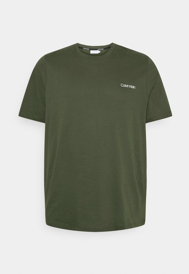 CHEST LOGO - Basic T-shirt - green