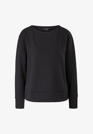 PIQUÉSTRUKTUR - Sweatshirt - black