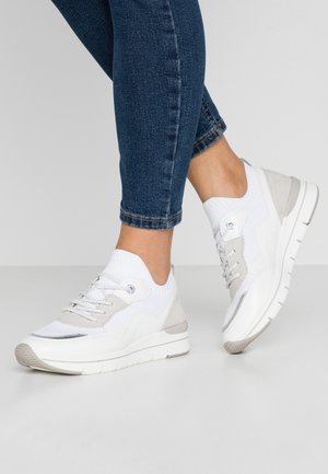 Joggesko - white/light grey