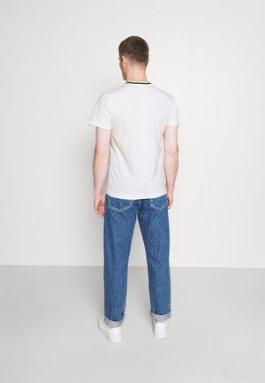 Basic T-shirt - white/abysm