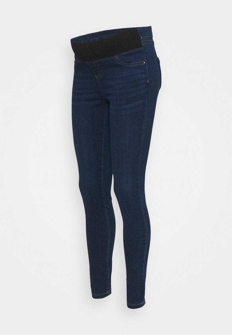 Dorothy Perkins Maternity - UNDERBUMP PREMIUM EDEN - Jeans Skinny Fit - mid wash denim