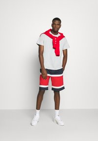 Tommy Jeans - COLORBLOCK BASKETBALL - Shorts - twilight navy/multi - 1