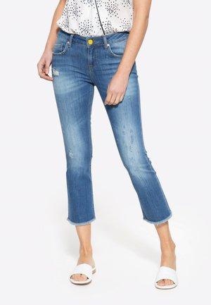 Straight leg jeans - denim