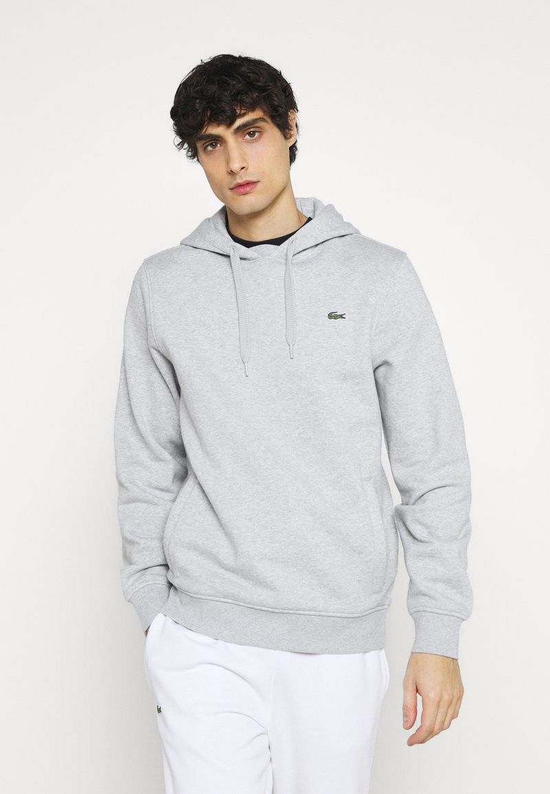 Lacoste - Hoodie - argent chine/elephant