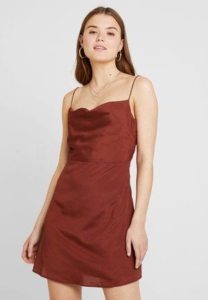 CAMI DRESS - Day dress - brown