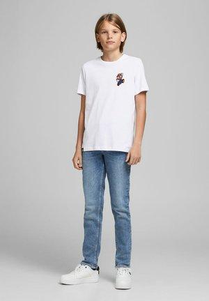 SUPER MARIO - T-shirt print - white