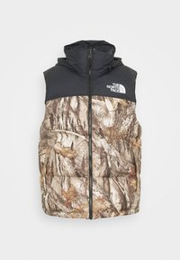 The North Face - 1996 RETRO NUPTSE VEST UNISEX - Waistcoat - kelp tan - 5
