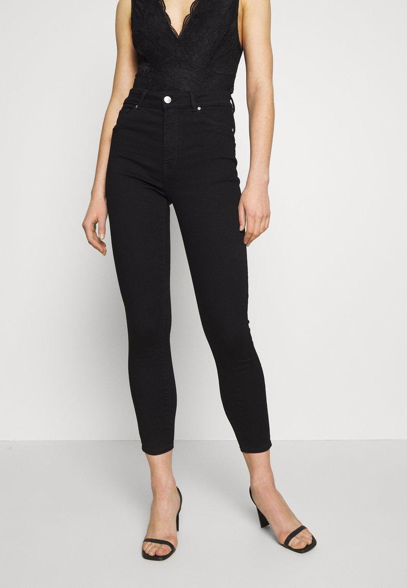ONLY - ONLOPTION LIFE SUPER - Jeans Skinny Fit - black