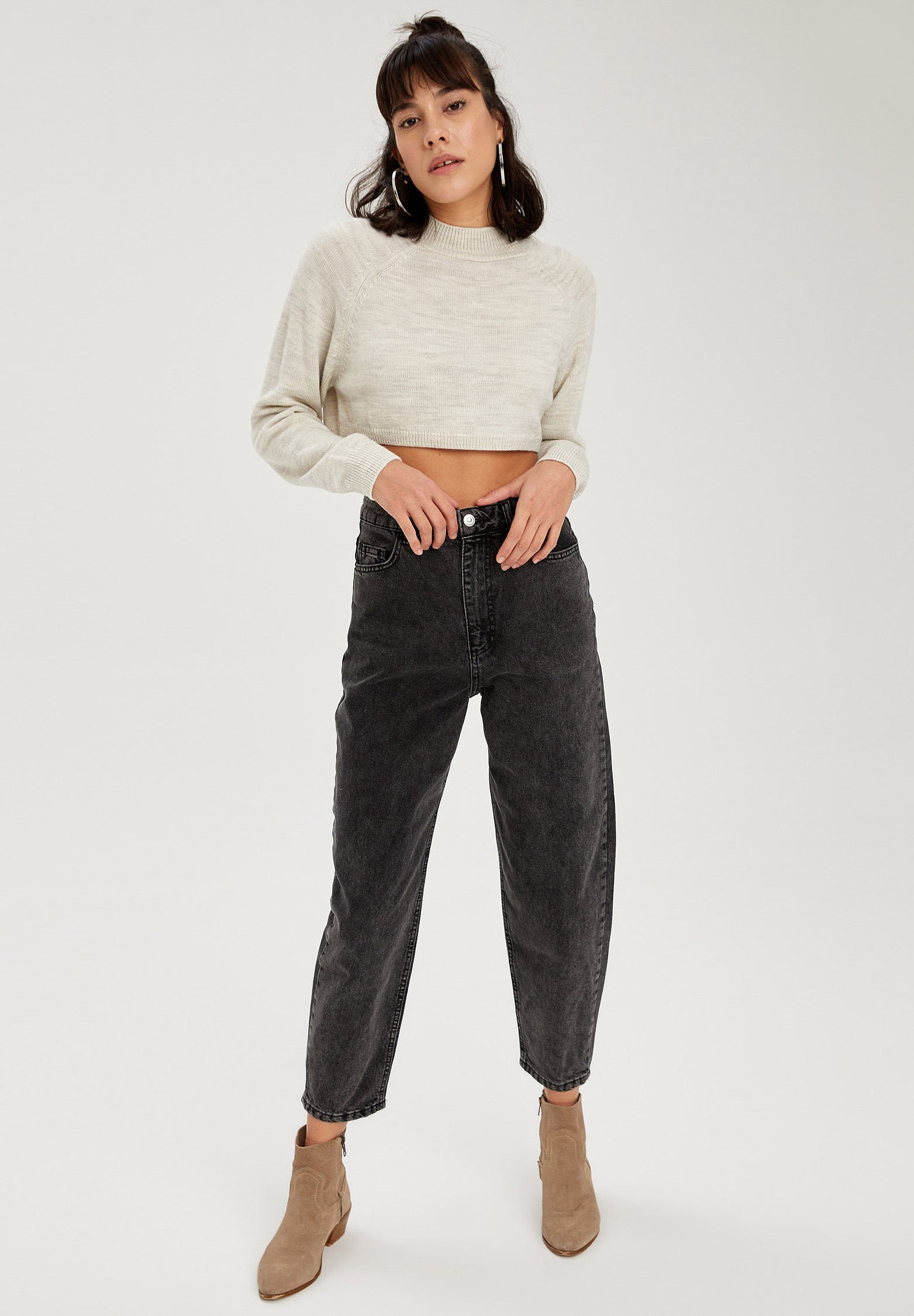 Femme CROPPED - Pullover