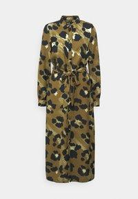 Vero Moda - VMGREETA DRESS - Košilové šaty - beech/greeta - 4