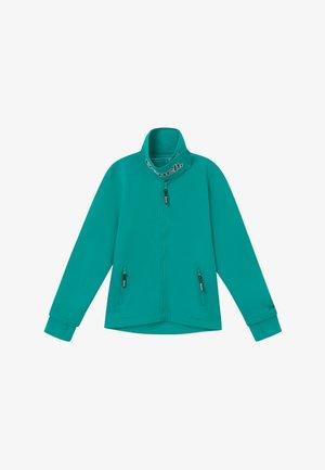 MONICA - Zip-up hoodie - turquoise