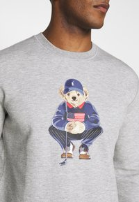 Polo Ralph Lauren Golf - BEAR LONG SLEEVE - Sweatshirt - grey heather - 4