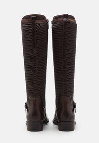 Tamaris - Vysoká obuv - mocca - 3