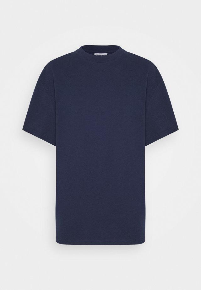 GREAT - Jednoduché triko - dark blue