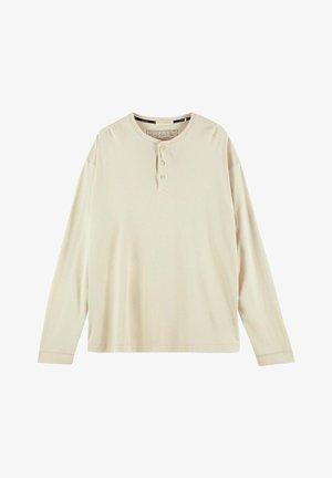 Långärmad tröja - beige