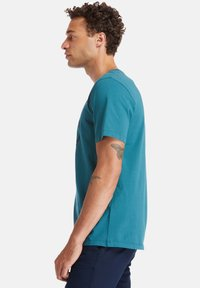 Timberland - T-shirt imprimé - atlantic deep - 3