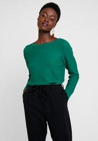 Esprit - OTTOMAN - Maglione - dark green - 0
