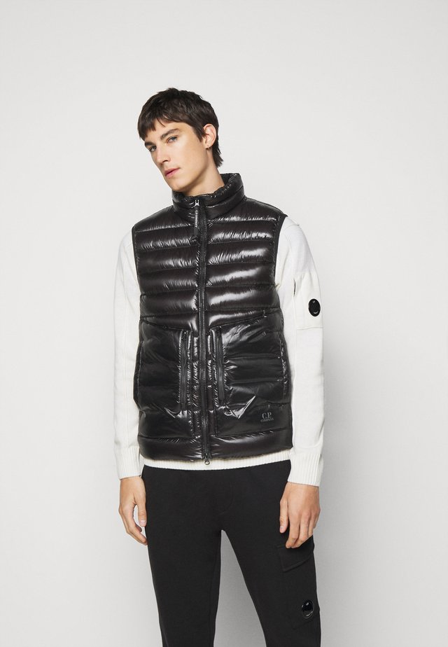 OUTERWEAR VEST - Waistcoat - black