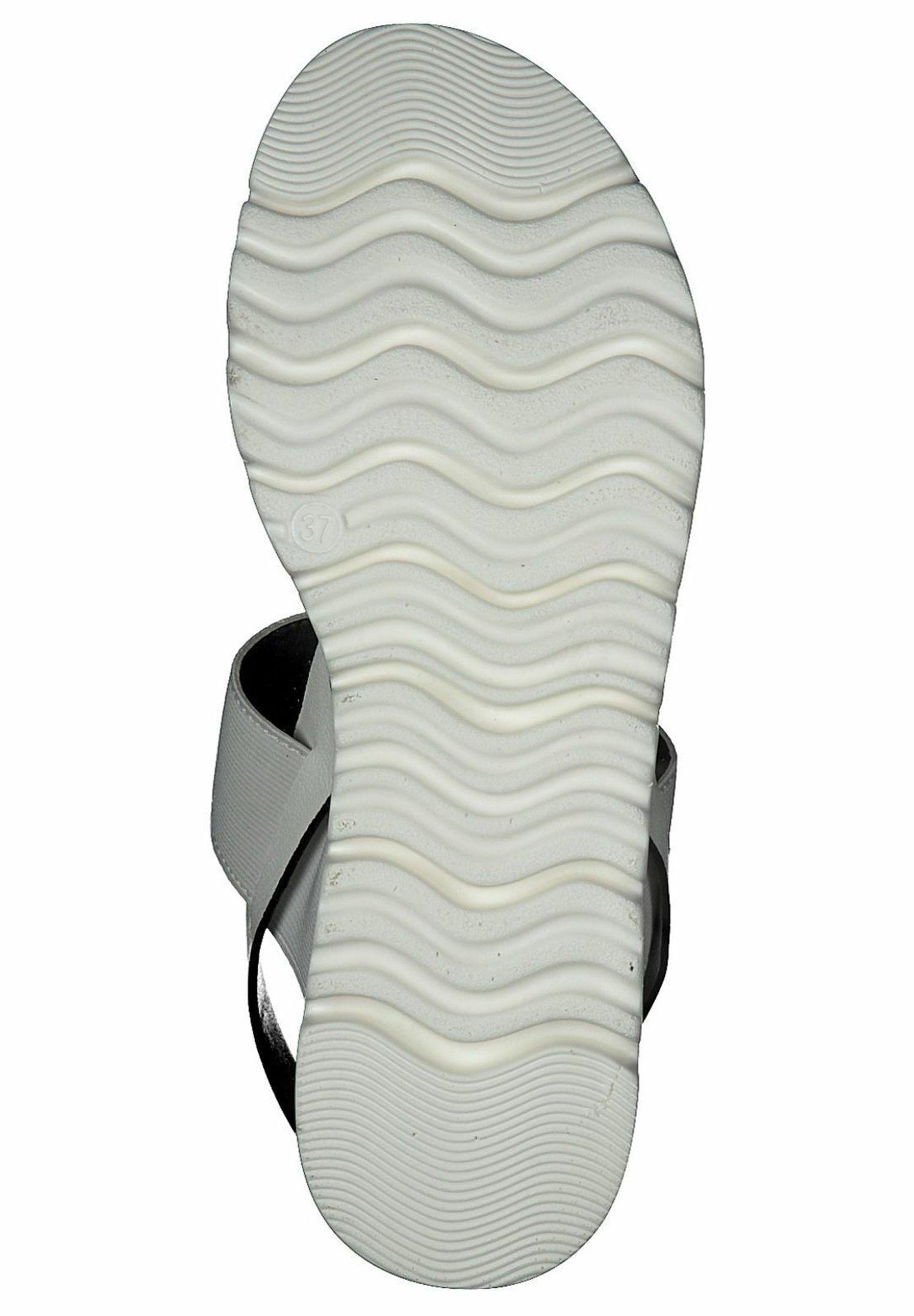 s.Oliver S.OLIVER - Sandales à plateforme - white - Sandales & Nu-pieds femme Designer