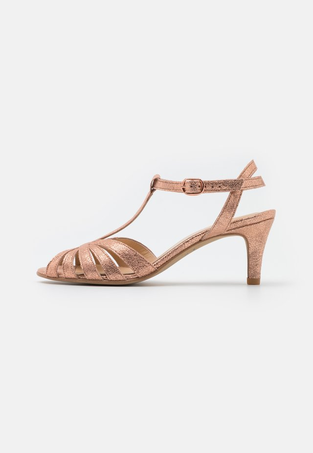 DOLIATE - Sandales - rose-gold