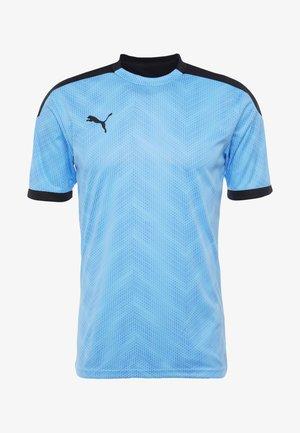 GRAPHIC  - T-shirt imprimé - luminous blue/puma black