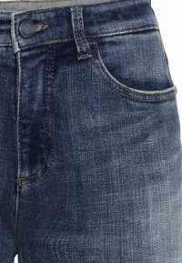 camel active - LOOSE FIT JEANS - Relaxed fit jeans - mid blue used tint - 7