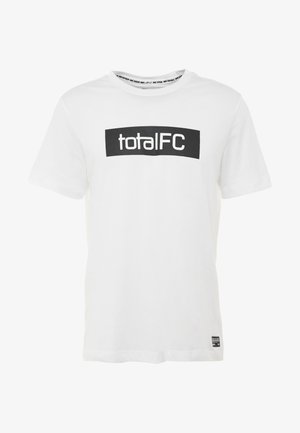 FC DRY TEE SEASONAL  - T-shirt med print - white