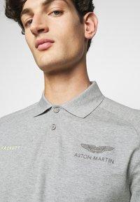 Hackett Aston Martin Racing - AMR CUT LINES - Polo - grey marl - 5