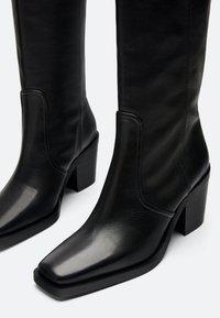 Uterqüe - Cowboy/Biker boots - black - 3