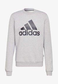 adidas Performance - BADGE OF SPORT FLEECE SWEATSHIRT - Sweatshirt - grey - 7