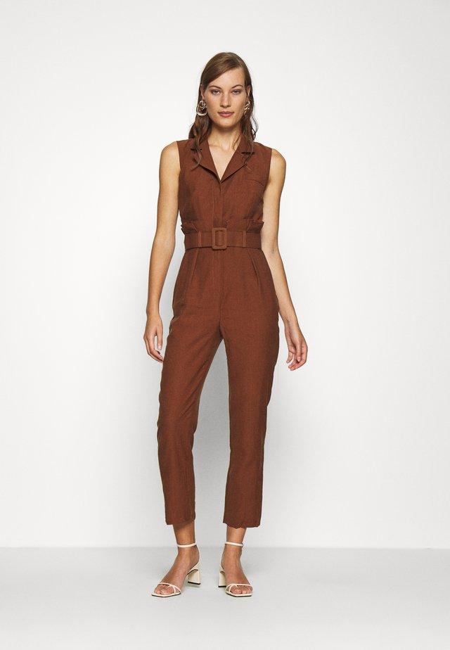KAHVERENGI - Overall / Jumpsuit - brown