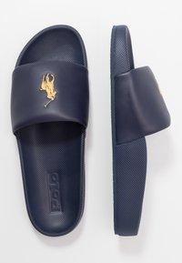 Polo Ralph Lauren - CAYSON  - Pantofle - newport navy/gold - 1