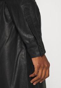 Kaffe - KALEANN DRESS - Shirt dress - black deep - 3