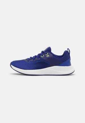 CHARGED BREATHE TR 3 - Sports shoes - blue/white